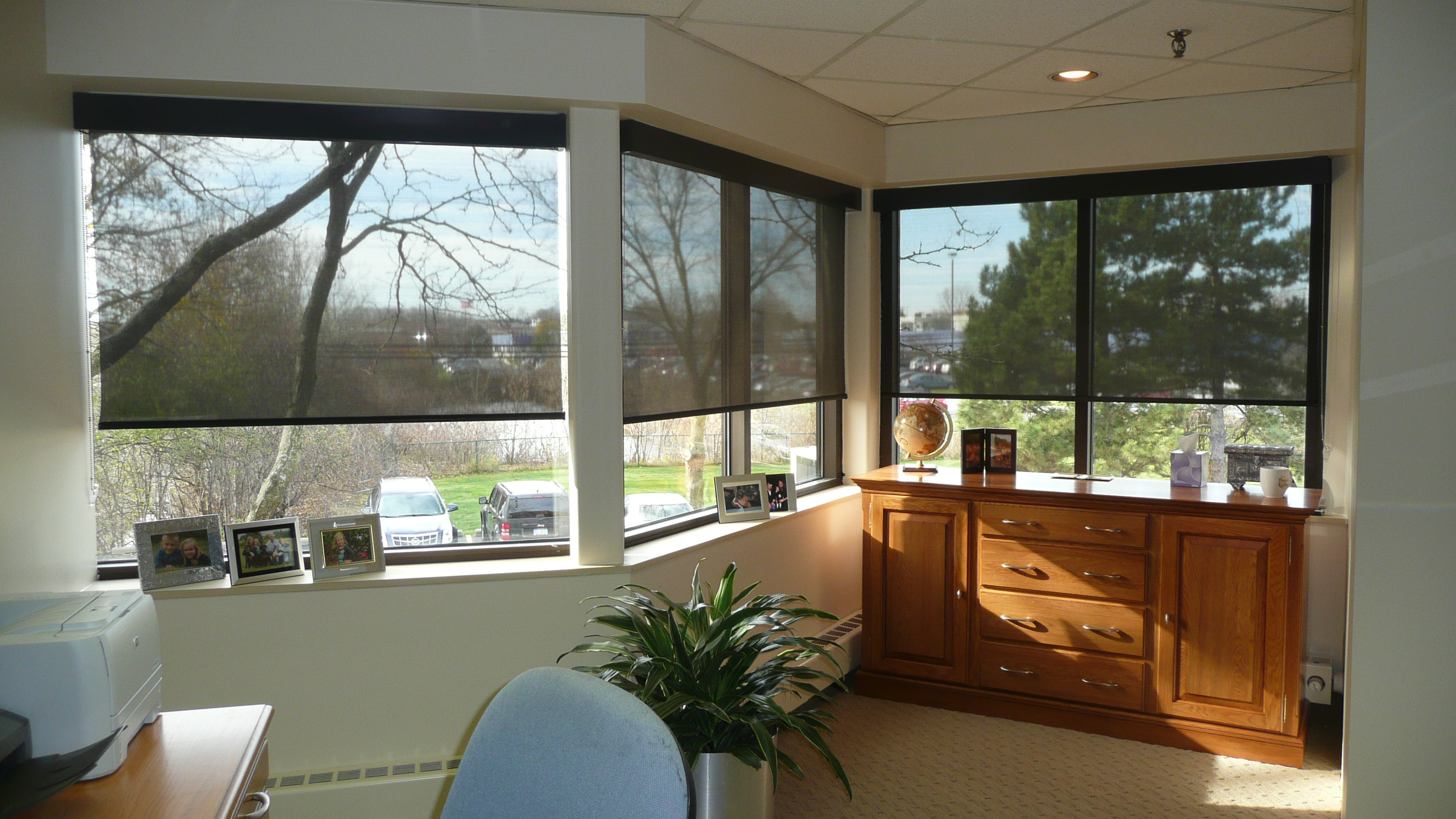 Rolling Solar Shades window shades  Bay Screens  Shades