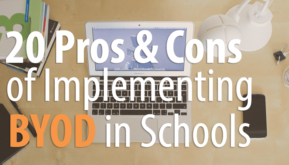 byod in education, pros and cons of byod in school, school wireless network design, wifi service providers,