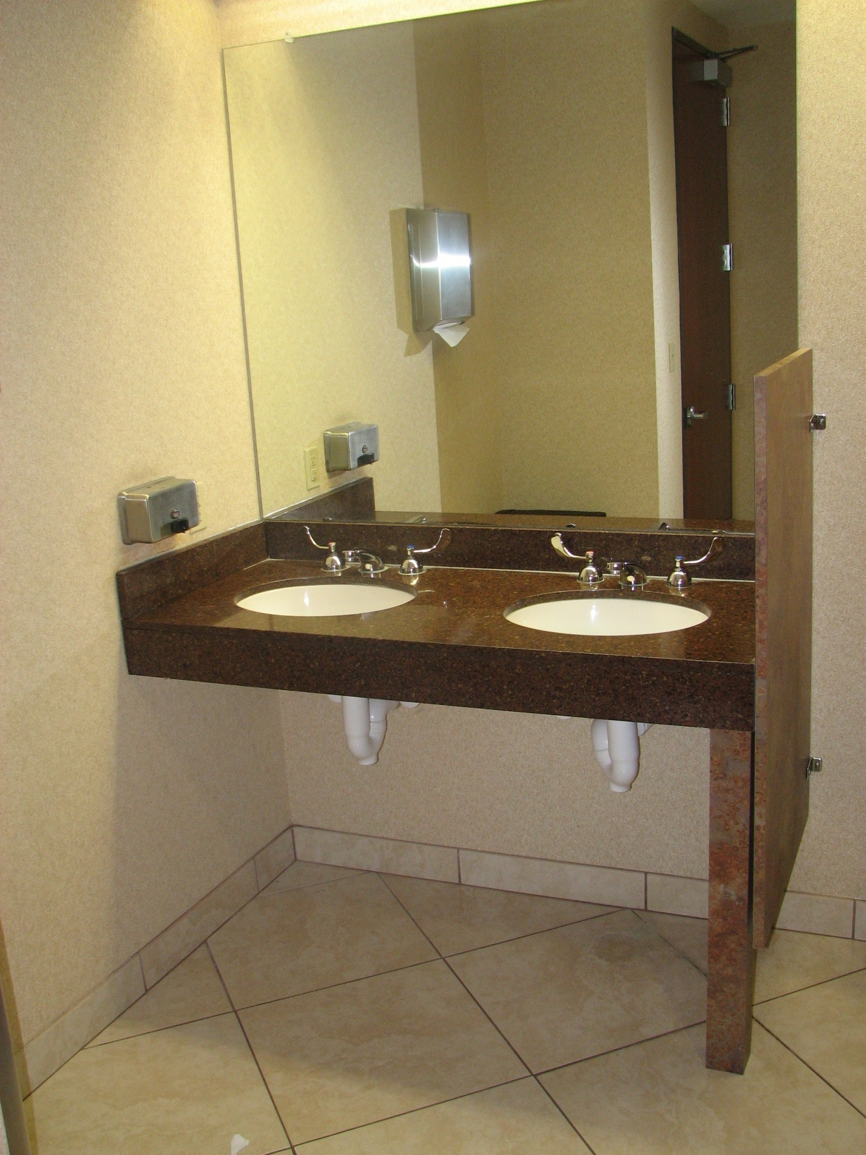 Commercial Ada Bathroom Sink Vanity