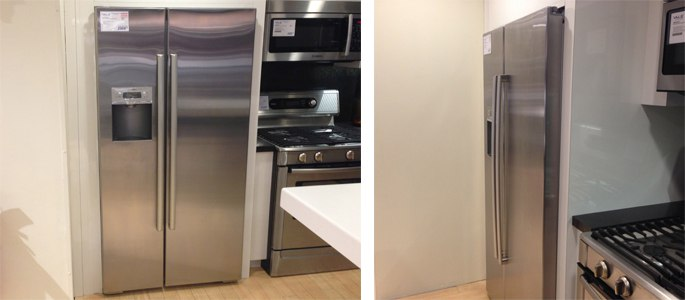 Electrolux vs GE Profile Counter Depth Refrigerators