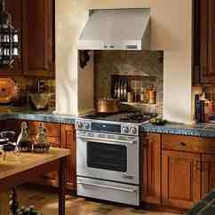 Kitchen Aid Electric Range Black Cabinet Kitchenaid Vs Jenn-air Slide-in Gas Ranges (reviews ...