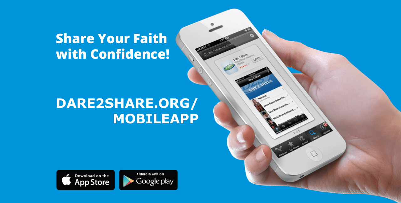 Download the Dare 2 Share Mobile App!