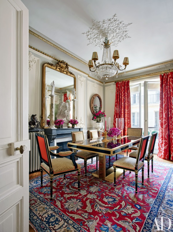 Designer Rugs in Architectural Digests 5 Best Rooms in