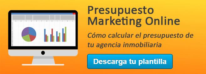 calcula tu presupuesto de marketing online metodología Inbound