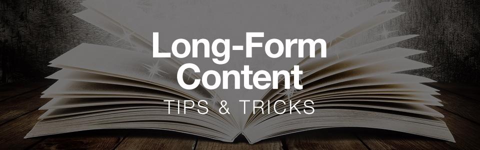 نتيجة بحث الصور عن long-form content
