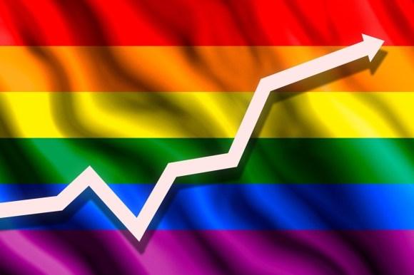 Dinero rosa, números generales de poder de adquisión de la comunidad LGBT