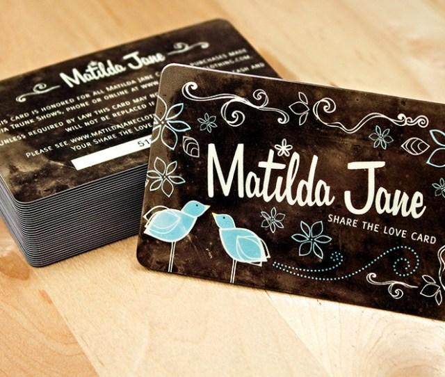 Matilda Jane Gift Cards
