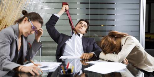 Risultati immagini per boring meeting