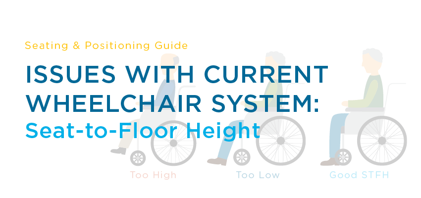 wheelchair height unusual garden chair issues with current system seat to floor