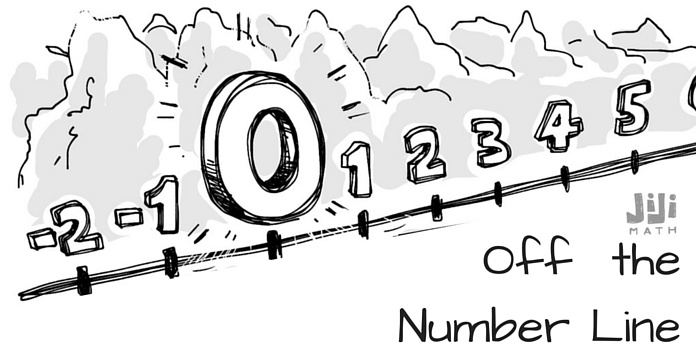 Off the Number Line: Birth of a Right Triangle