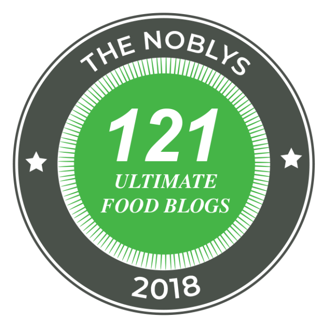 The Noblys 121 ultimate food blogs for 2018