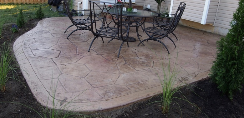 Stamped Concrete Gallery Wickliffe Ohio  Free Estimates  Quality Work