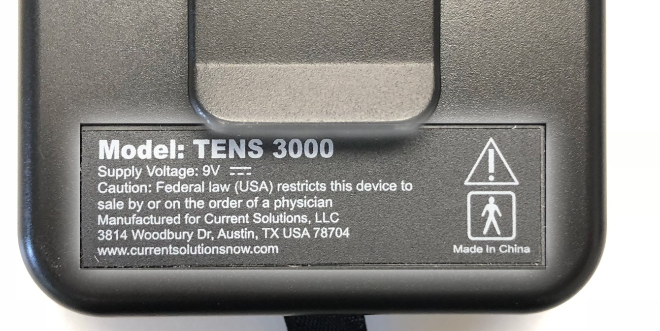 3000 Model Warning