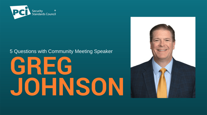 5 Questions with Greg Johnson