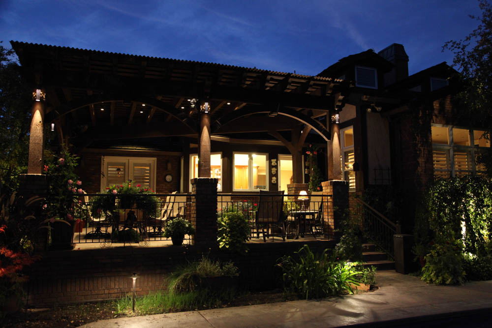 Patio Pergola and Deck Lighting Ideas and Pictures