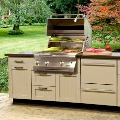 Brown Jordan Outdoor Kitchens Hickory Cabinets Kitchen Can You Fit Danver To An Existing Patio Or Deck