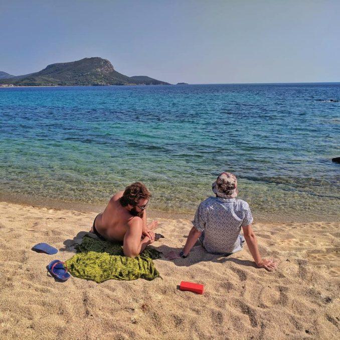 Beach days in Greece