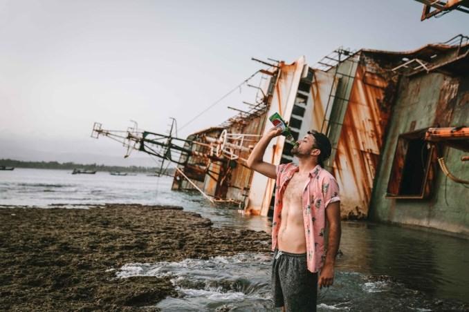 Indonesia-shipwreck