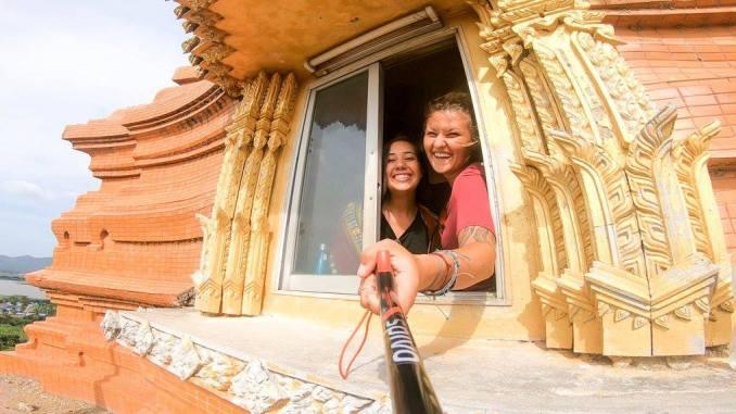 chelsea-autor-temple-selfie