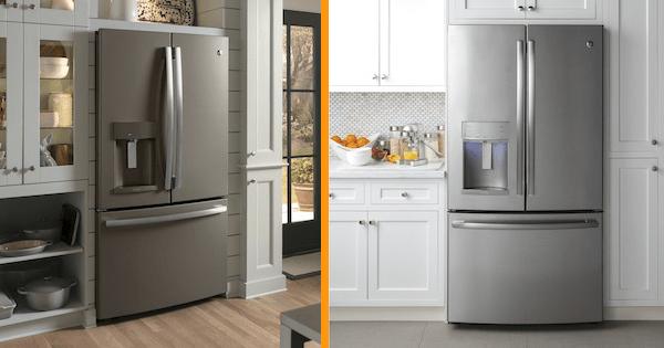 slate appliances vs stainless steel