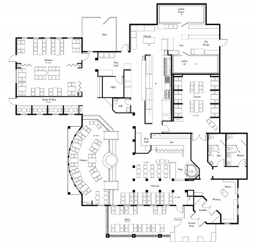 9 Restaurant Floor Plan Examples  Ideas for Your