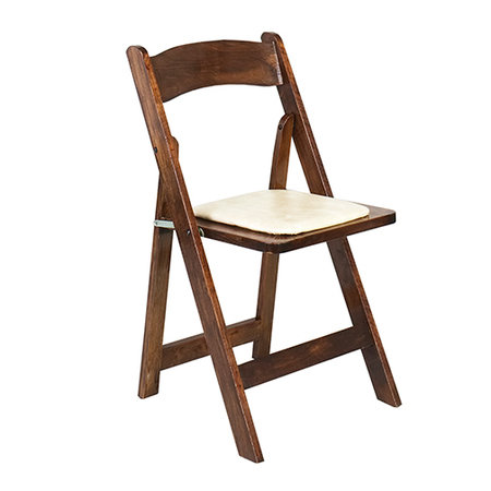 renting folding chairs land of nod high chair doll rentals wedding memphis event padded fruitwood