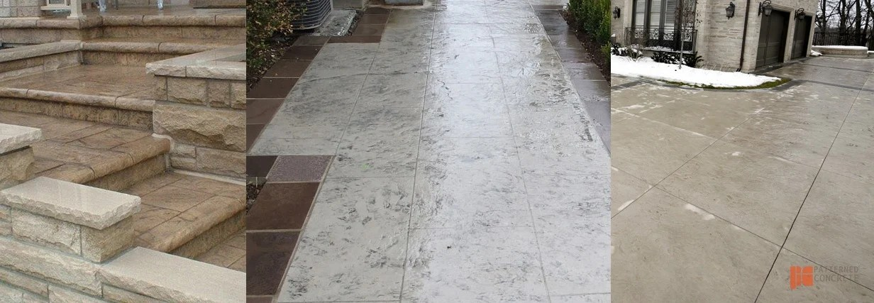 how to maintain stamped concrete