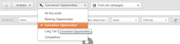 hubspot keyword tool conversion opportunities