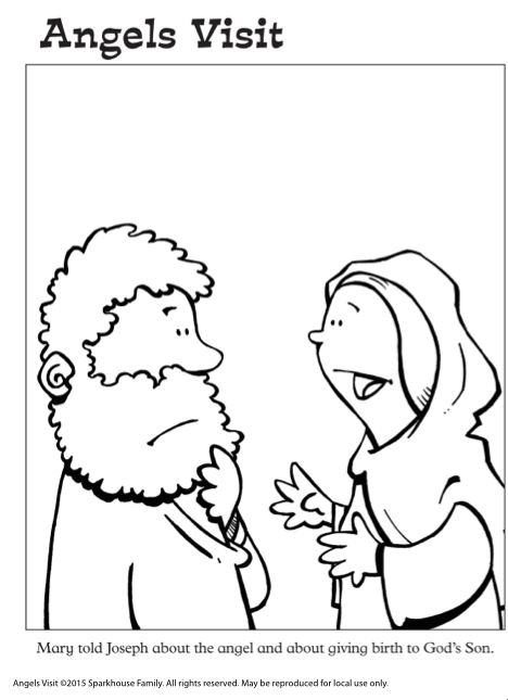 Free Coloring Pages for Advent