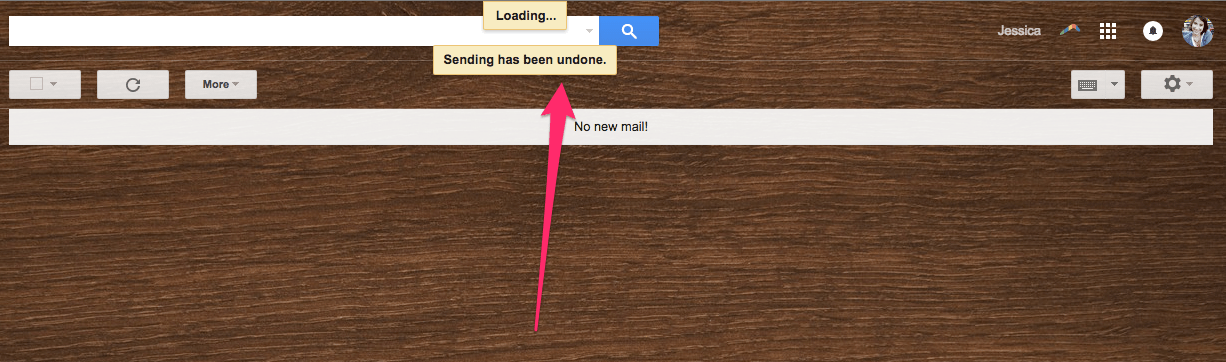 Send Undone!