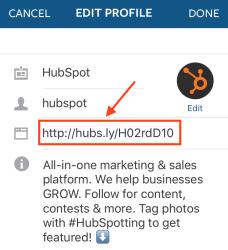 Image result for instagram bio link
