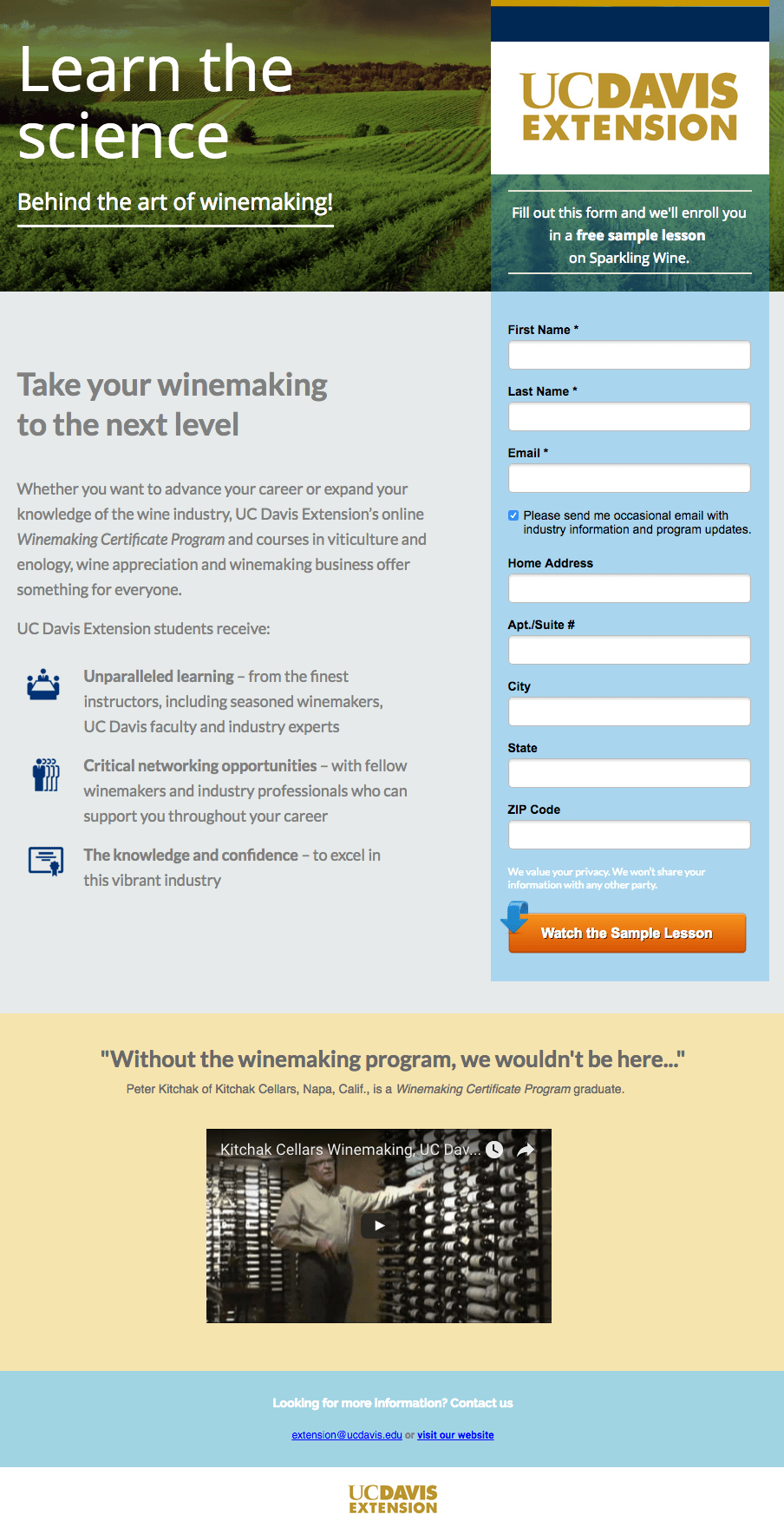 uc-davis-art-of-winemaking-landing-page-example.png