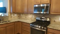 Tile Backsplash Charlotte | 3 x 6 Travertine Tile