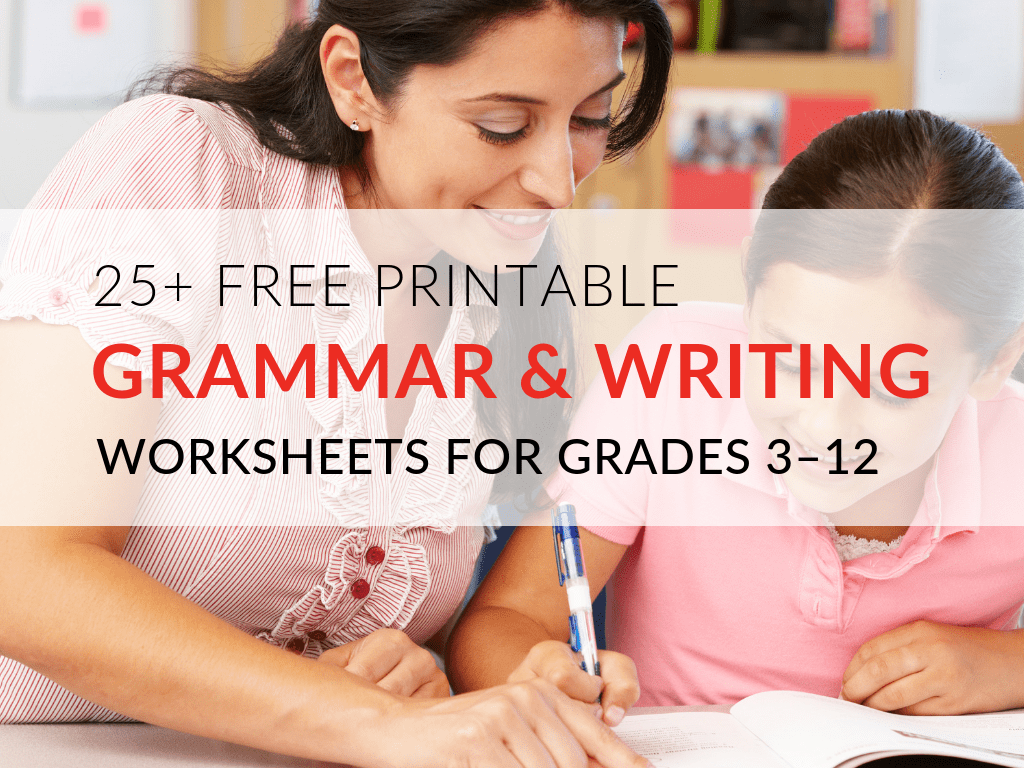 29 Printable Grammar Worksheets That Will Improve Students