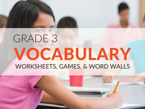 small resolution of 3rd Grade Vocabulary Worksheets