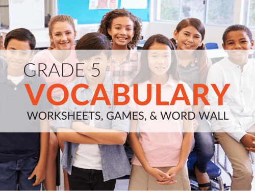 small resolution of 5th Grade Vocabulary Worksheets