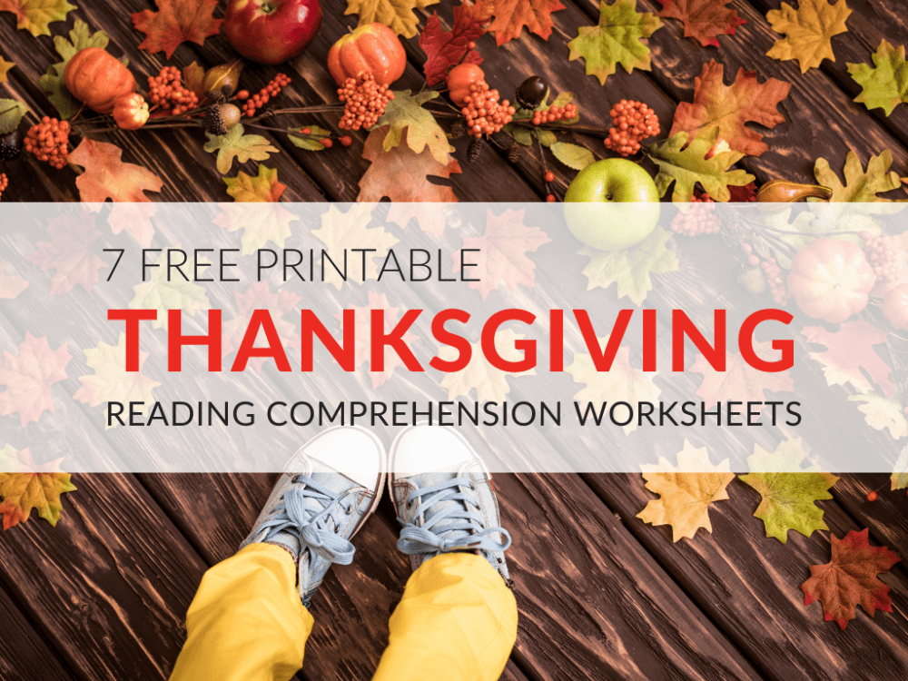 medium resolution of Thanksgiving Reading Comprehension Worksheets for Grades 1–5 PDF Printables