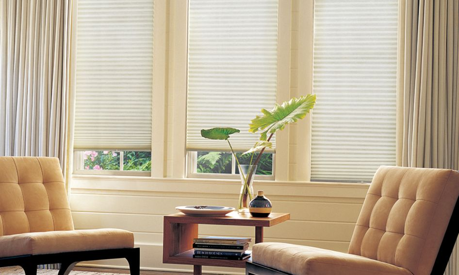 blinds for living room with curtains grey flooring shades and drapes combine drapery duette honeycomb in sitting