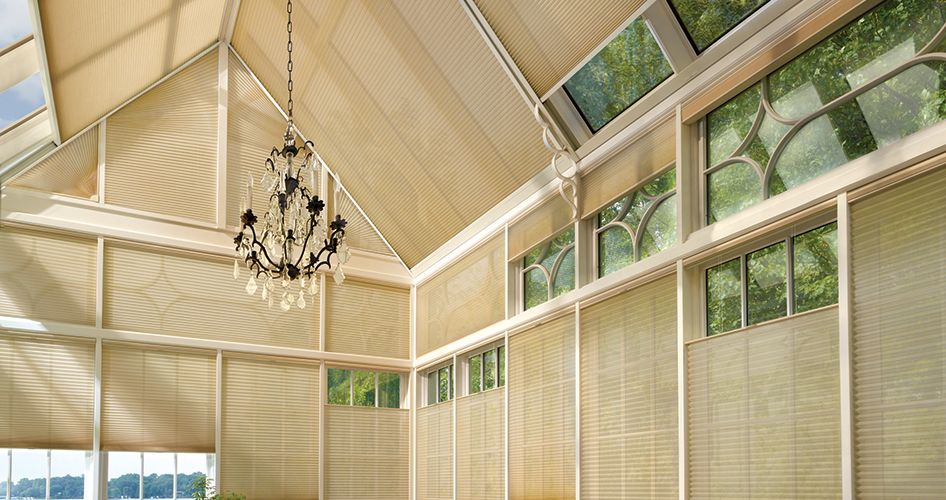 Best Skylight Shades  Skylight Blinds  Hunter Douglas