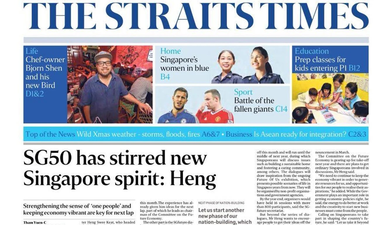 In dire straits? Singapore Press Holdings accelerates plan to axe 400 jobs | This Week In Asia | South China Morning Post