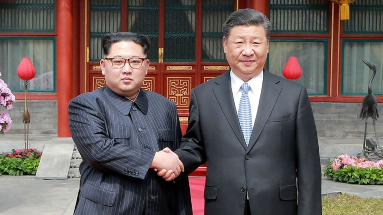 Image result for kim and xi