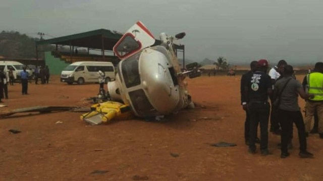 Image result for Nigeria vice president survives second chopper emergency