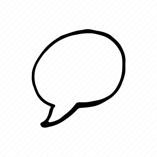 Bubble, cartoon, comic, speech, talk icon