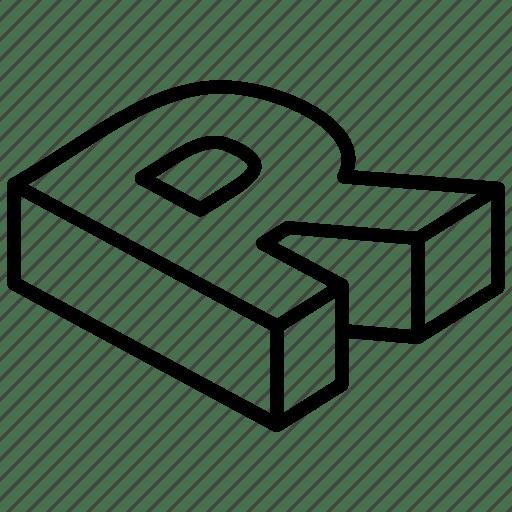 3d fonts by vectors