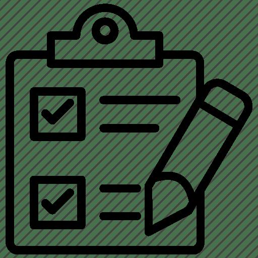 Catalog, checklist, list, registry, schedule icon