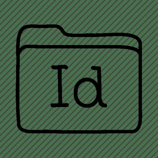 Adobe indesign, application, files, folder, folders