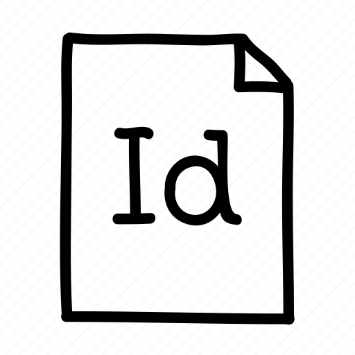 Adobe indesign, document, file, files, page, sheet icon