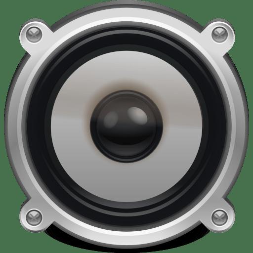 Speaker volume icon