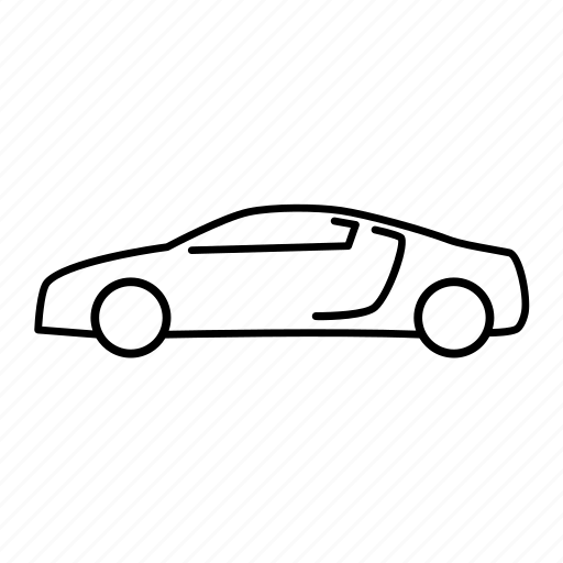 How to draw a porsche side view