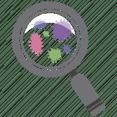 Resultado de imagem para icon bacteria